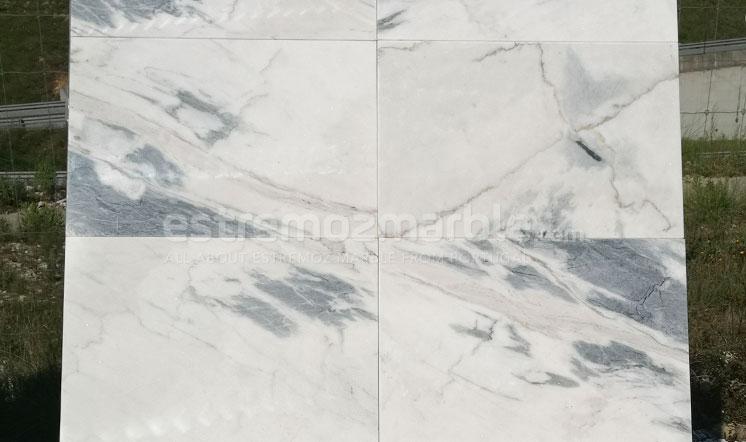 Estremoz Blue White marble tiles