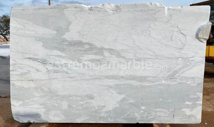 Estremoz White marble block