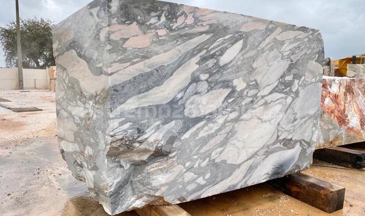 Portugal Calacatta Grey marble block
